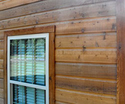 Cedar Wood Siding -