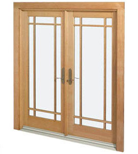 Marvin doors for French doors exterior inswing