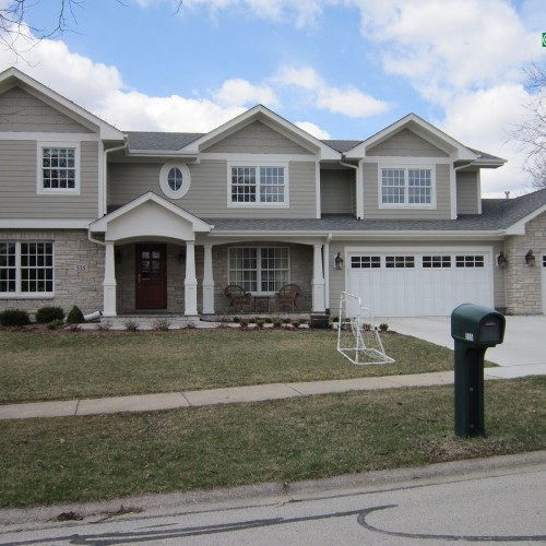 James Hardie Siding and Versa Stone in Naperville