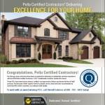 2010 GuildQuality – Pella Certified Contractor (PCC) Customer Satisfaction Award.