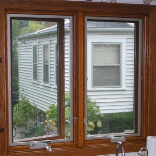 Pella casements over kitchen sink