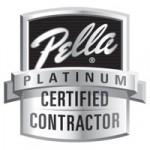 Pella Platinum Certified Contractor